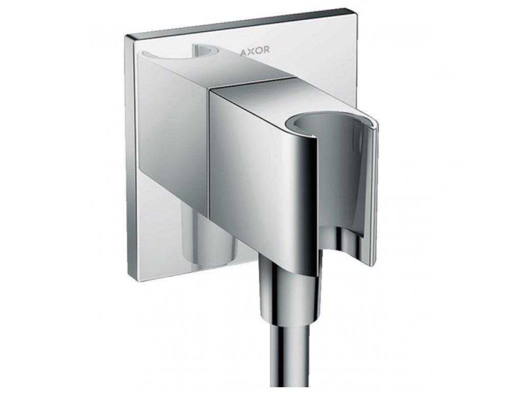 stenová prípojka na sprchu s držiakom ručnej sprchy, FIXFIT