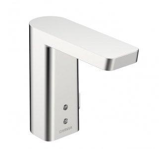 batéria umývadlová senzorová, s nastavením teploty, Bluetooth, 9/12V, HANSASTELA, chróm