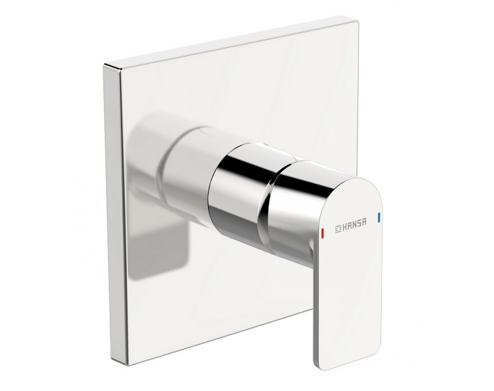 batéria sprchová podomietková, pre 1 odberné miesto, štvorcová rozeta, HANSASTELA, chróm