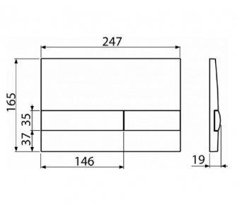 SET Alcamodul AM115/1000+M1710+WC Keramin+A60+M91, S DÁVKOVAČOM TABLIET