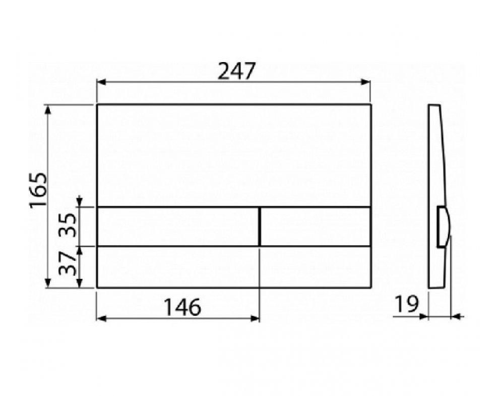 SET Sádromodul AM101/1120+M1710+WC Keramin+A60+M91, S DÁVKOVAČOM TABLIET