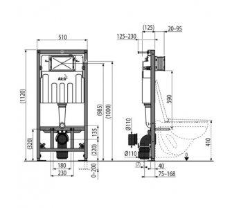 Sádromodul - Predstenový inštalačný systém pre suchú inštaláciu (do sádrokartónu)