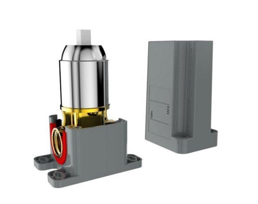 batéria sprchová podomietková pre 1 odberné miesto, s AQ boxom, VENTURA  BIELA-CHRÓM