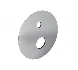 Okrúhla krytka pre podomietkovú sprchovú batériu pre 2 odberové miesta s keramickým prepínačom k AQ-BOX-066CD-35