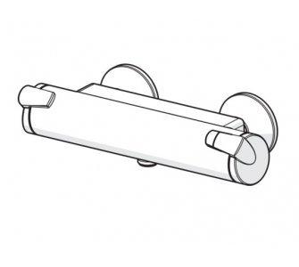 vaňová termostatická batéria HANSAFIT