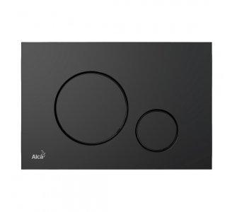 Ovládacie tlačidlo pre predstenové inštalačné systémy, plast, čierna matná