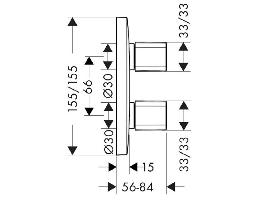 podomietková batéria iControl, PURAVIDA