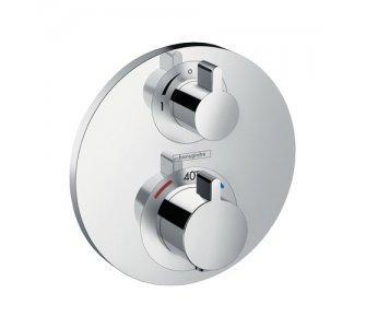 batéria sprchová podomietková termostatická pre 1 odberné miesto, ECOSTAT S, chróm