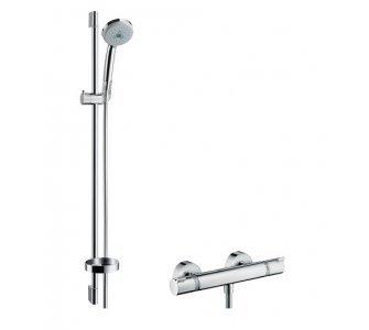 batéria sprchová termostatická so sprch. súpravou CROMA 100 MULTI 3jet, tyč 900mm, ECOSTAT 1001 SL