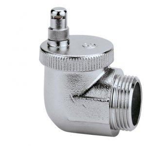 AERCAL - Automatický odvzdušňovací radiátorový ventil, rohový 1/2