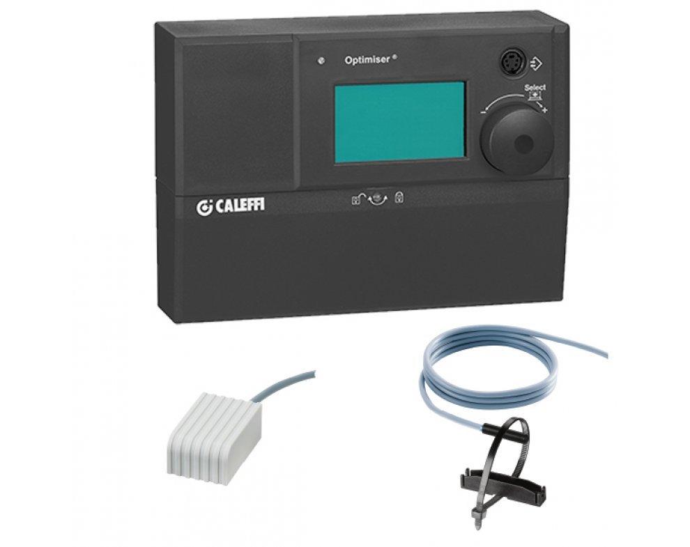 Digitálny regulátor teploty vrátane kontakného a vonkajšieho čidla