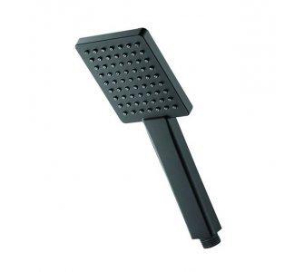 ručná sprcha hranatá, 105x83mm, HERZ SQ BLACK, čierna