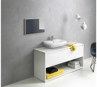 Batéria páková umývadlová, pre beztlakové ohrievače, s odtokovou garnitúrou, LOGIS, chróm