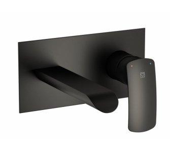 batéria umývadlová podomietková, HERZ ELITE, čierna