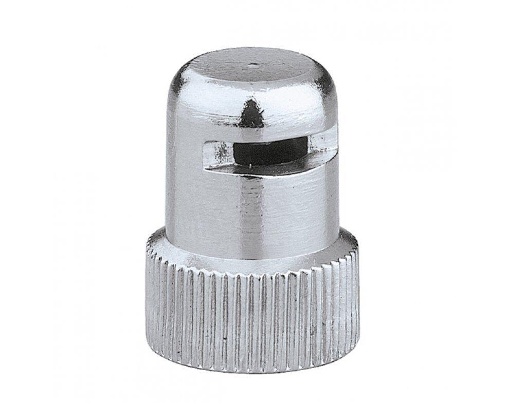 Hygroskopický bezpečnostný uzáver AQUASTOP pre automatické odvzdušňovacie ventily sérii: 5020,5021,5022,504, pochromovaný