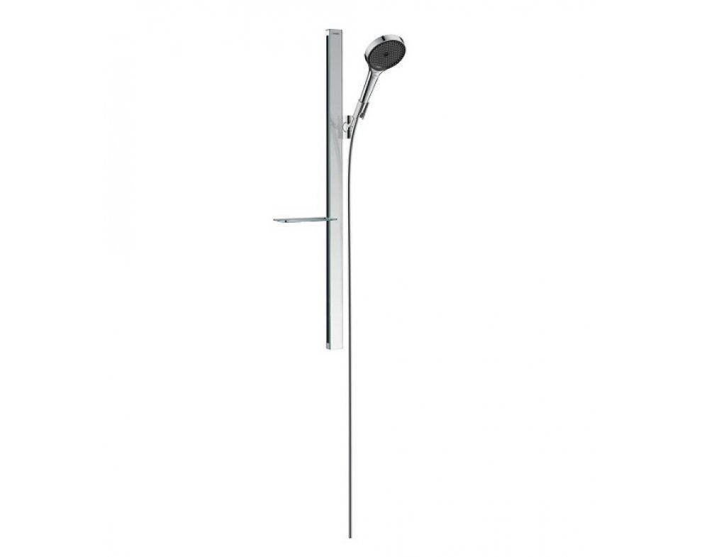 Sprchová súprava, ručná sprcha 3-polohová, mydelnička, RAINFINITY, chróm