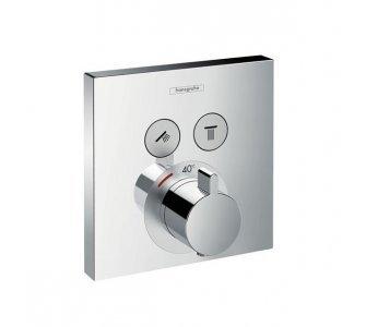 batéria sprchová podomietková termostatická pre 2 odberné miesta, SHOWER SELECT