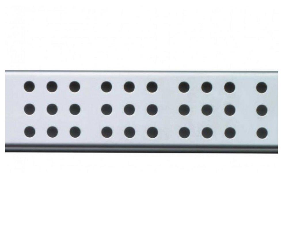Rošt pre líniový podlahový žlab (nerez mat)