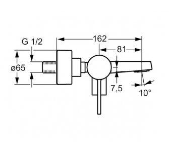 páková vaňová batéria HANSALOFT