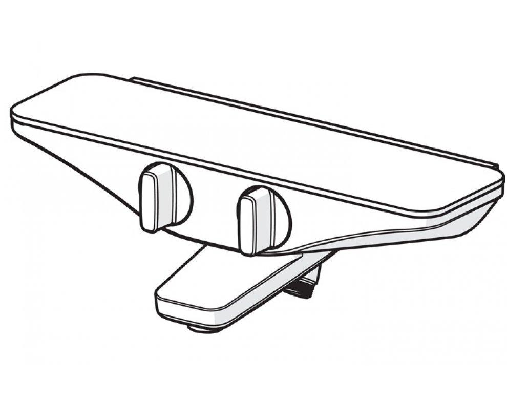 vaňová termostatická batéria HANSAEMOTION so sprchovým setom HANSAACTIVEJET