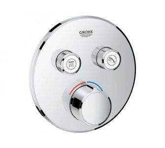 Batéria sprchová podomietková s dvoma ventilmi, SMARTCONTROL, chróm