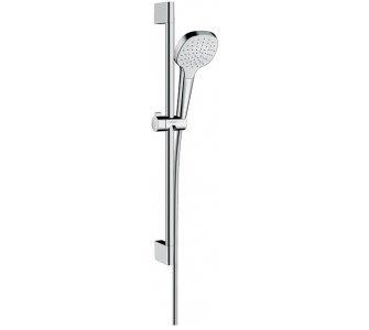 Sprchová súprava 1jet, sada 0,65 m, Croma Select E, biela/chróm