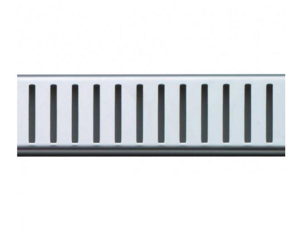 Rošt PURE 300 mm pre líniový podlahový žľab, nerez-lesk