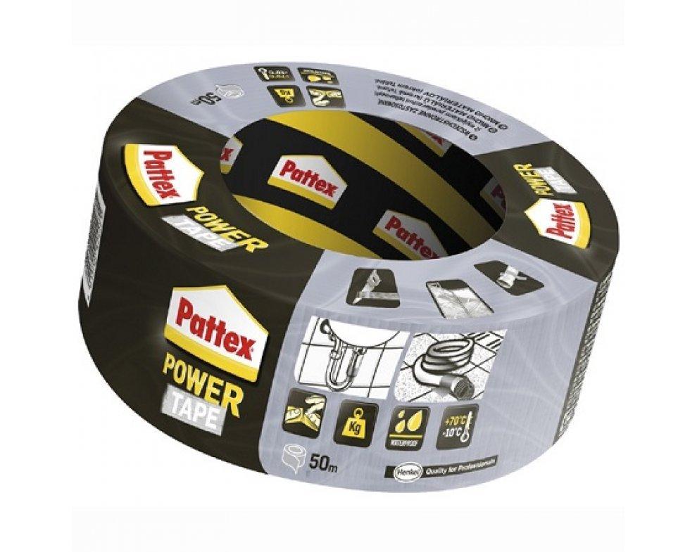 páska Pattex Power Tape strieborná 50m