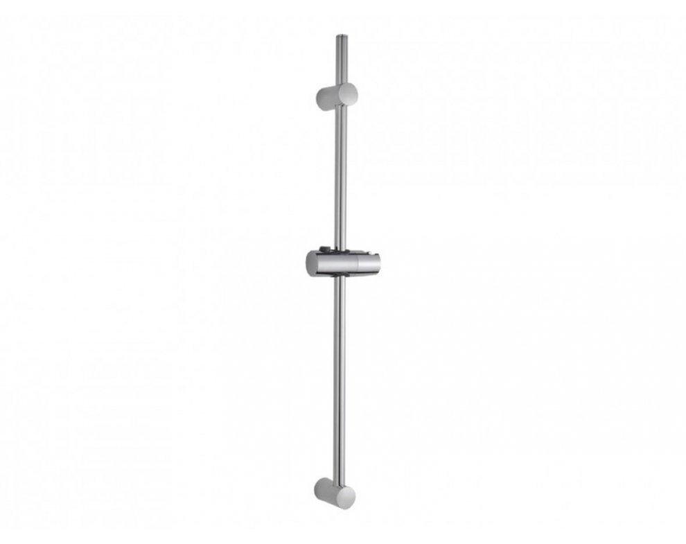 Sprchová tyč plastová, dĺžka 70cm, s posuvným vrchným úchytom, ELSA