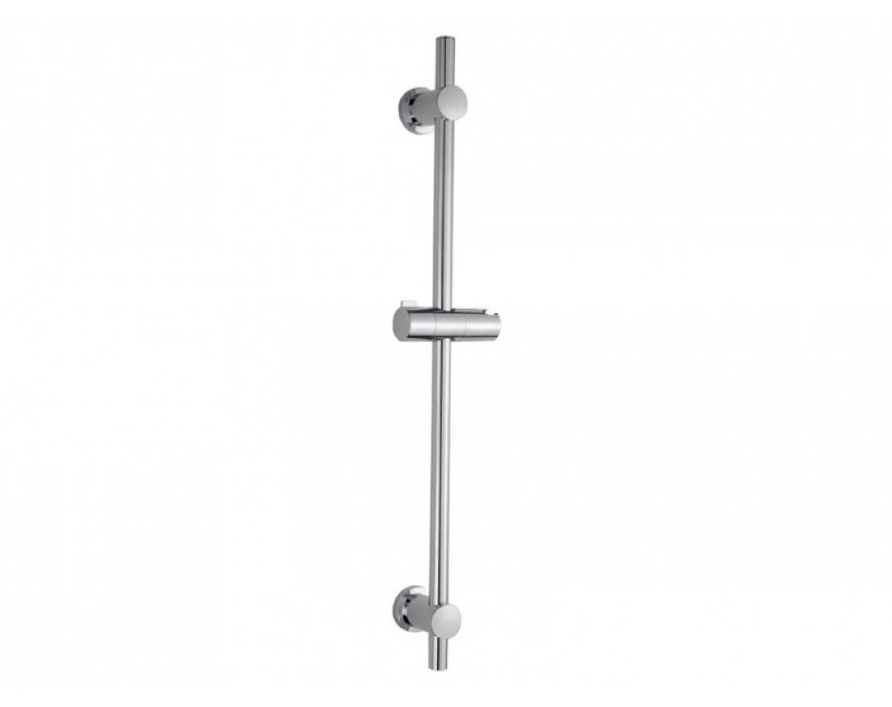 Sprchová tyč plastová, dĺžka 70cm, s posuvnými úchytmi, IRMA