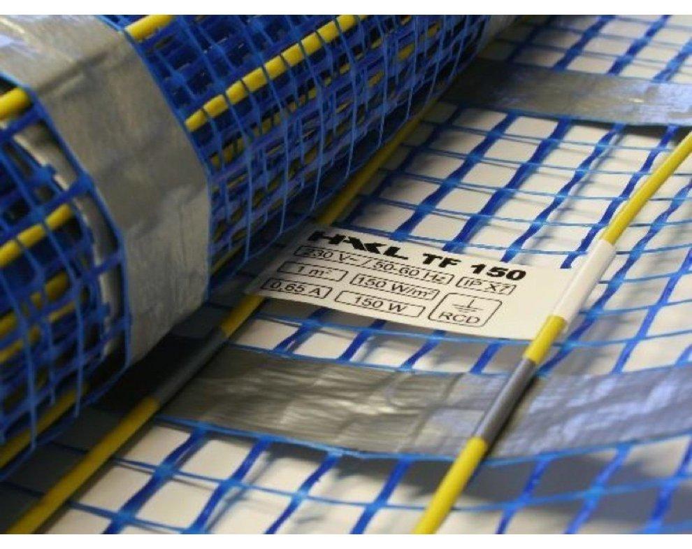 HAKL - elektrická podlahová vykurovacia rohož pod dlažbu, šírka 0, 5 m, dĺžka 24 m