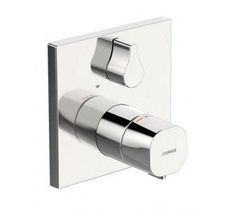 Batéria sprchová termostatická, pod omietku, HANSALIVING, chróm