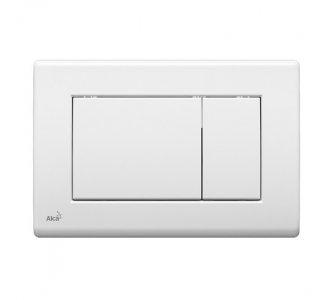 Ovládacie tlačidlo pre predstenové inštalačné systémy, 247x165mm, biela