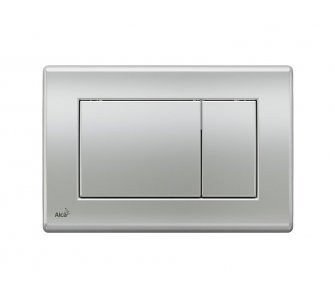 Ovládacie tlačítko pre predstenové inštalačné systémy, chróm-mat