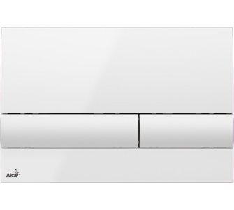 Ovládacie tlačítko pre predstenové inštalačné systémy, biela
