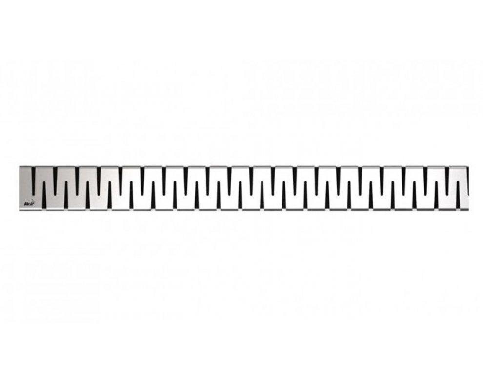 Rošt pre líniový podlahový žľab, nerez-lesk 750mm