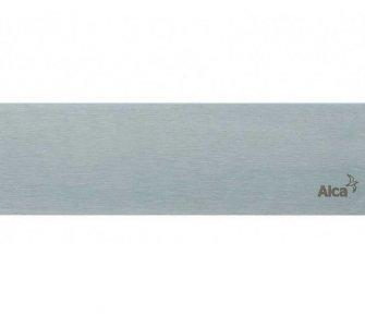 Rošt pre líniový podlahový žľab, 650mm, POSH, nerez matný