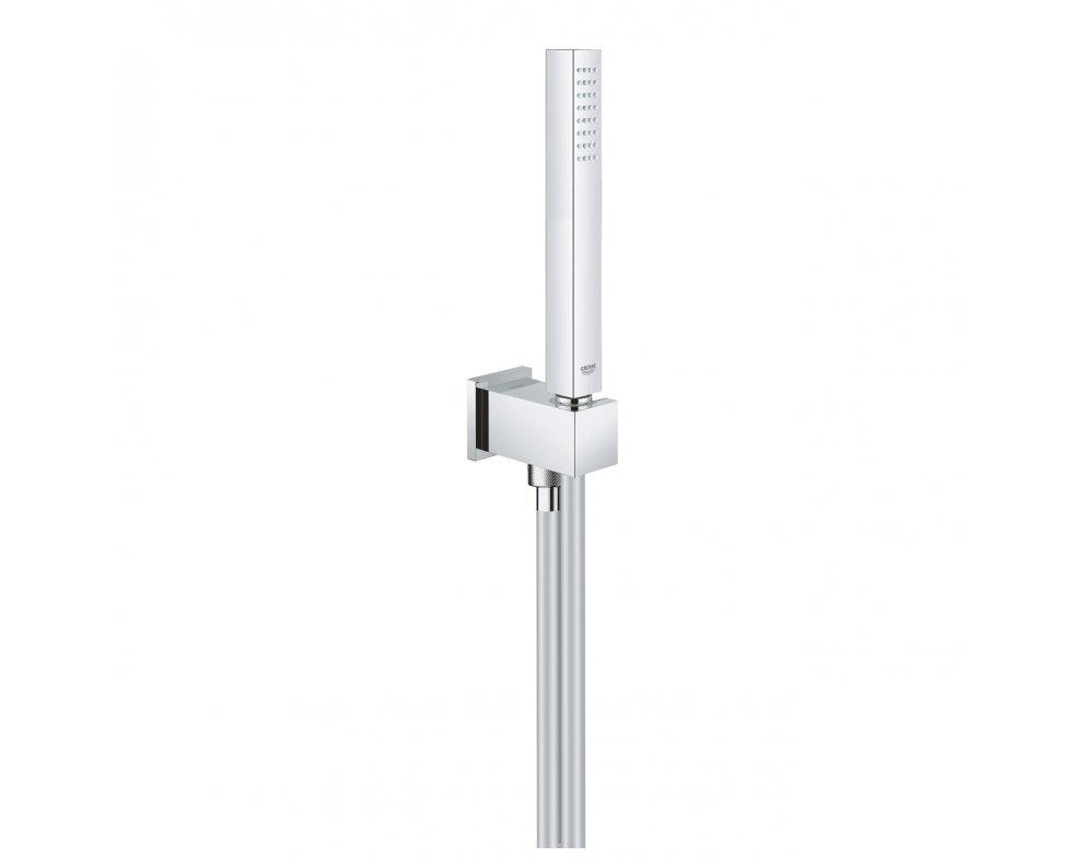 sprchová súprava Stick s držiakom, 1 prúd, chróm, Euphoria Cube