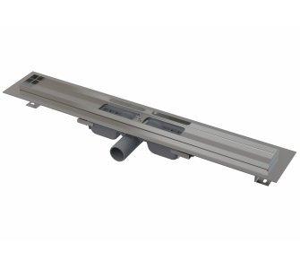 Low - Podlahový žľab s okrajom pre perforovaný rošt, dĺžka 750mm