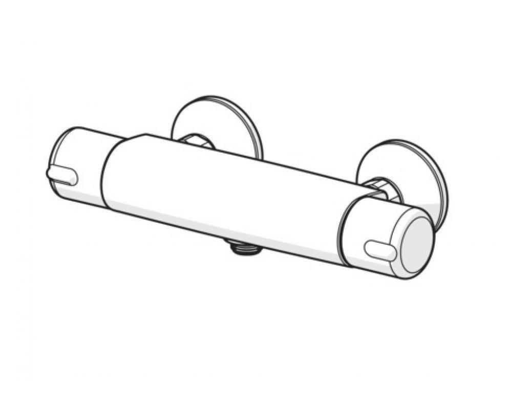 termostaticlá sprchová batéria HANSAMICRA