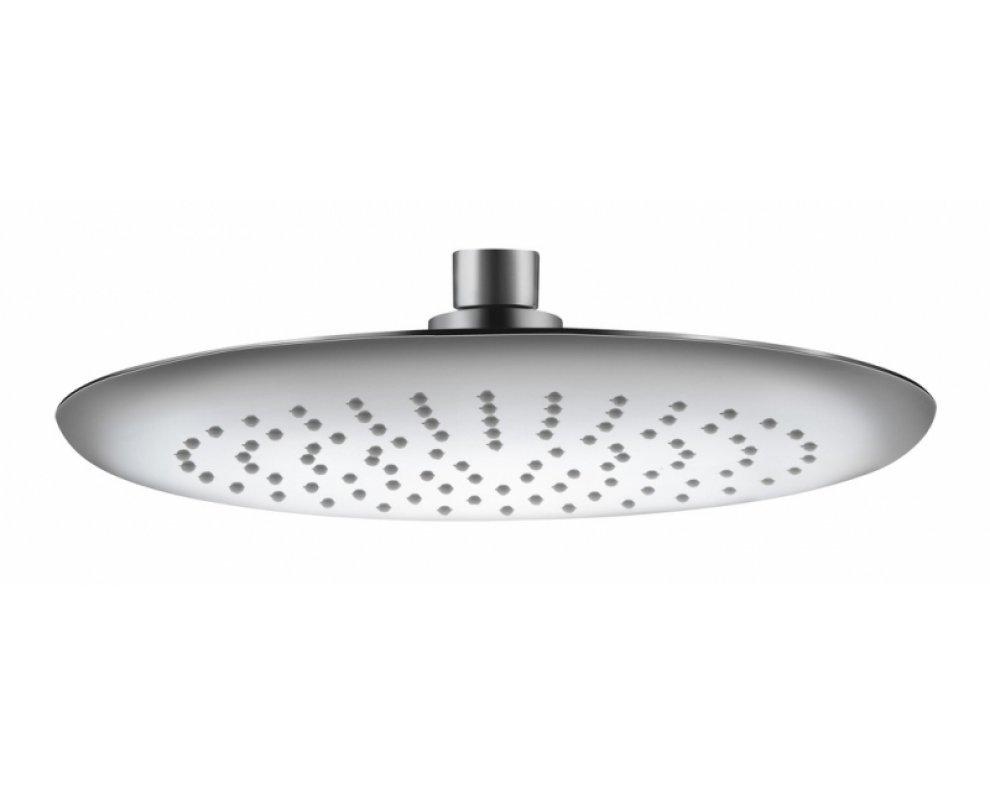 Sprchová hlavica okrúhla, plastová, priemer 200mm, FRESH