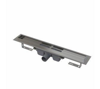 Professional - Podlahový žľab s okrajom pre plný rošt, dĺžka 300mm
