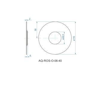 batéria sprchová podomietková pre 1 odberné miesto, s AQ-boxom, FORUM