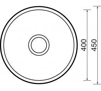 Drez nerezový Sinks ROUND 450 M 0,6mm matný