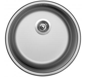 drez nerezový Sinks ROUND 450 V 0,6mm matný