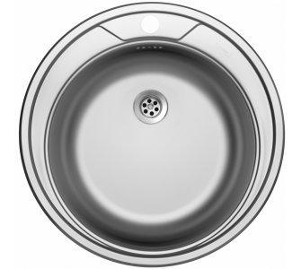drez nerezový Sinks ROUND 510 M 0,6mm matný