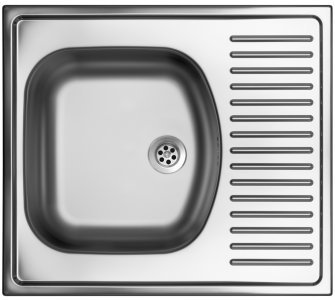drez nerezový Sinks SHORT 580 M 0,5mm matný