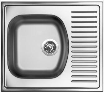 drez nerezový Sinks SHORT 580 V 0,5mm matný
