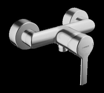 batéria sprchová stenová bez príslušenstva, HANSARONDA