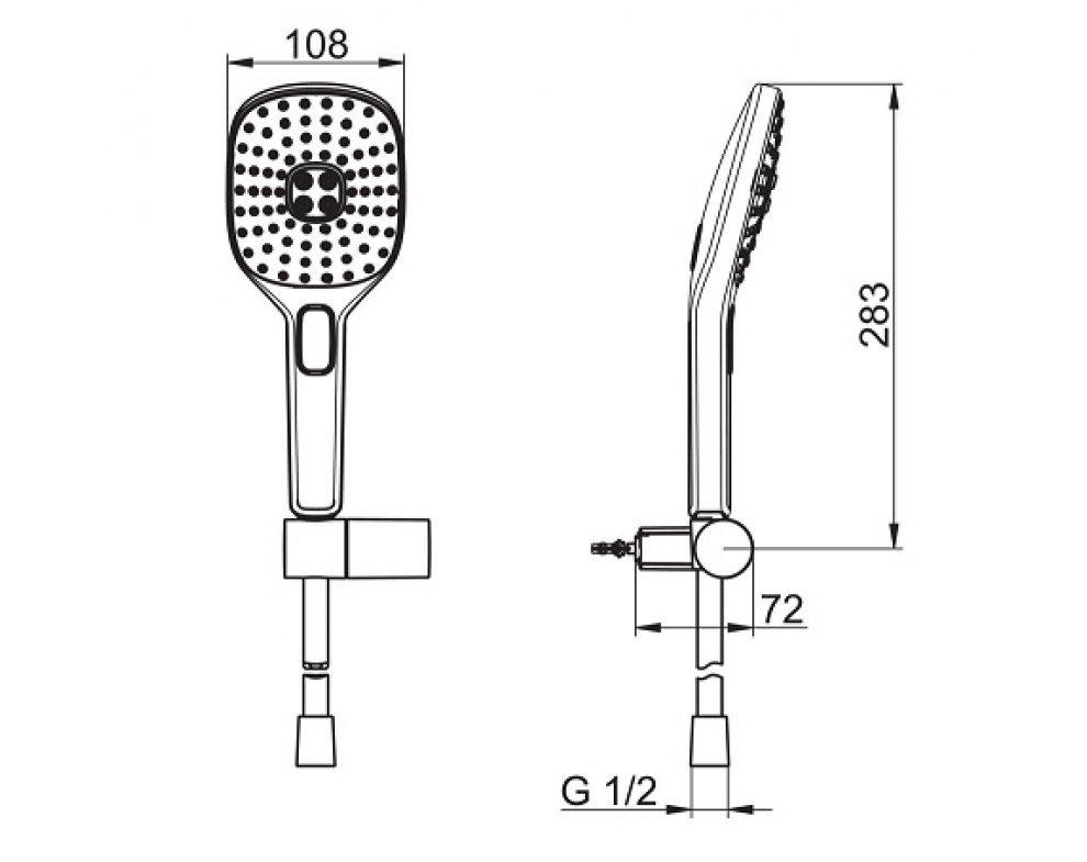 Sprchový set, HANSAACTIVEJET